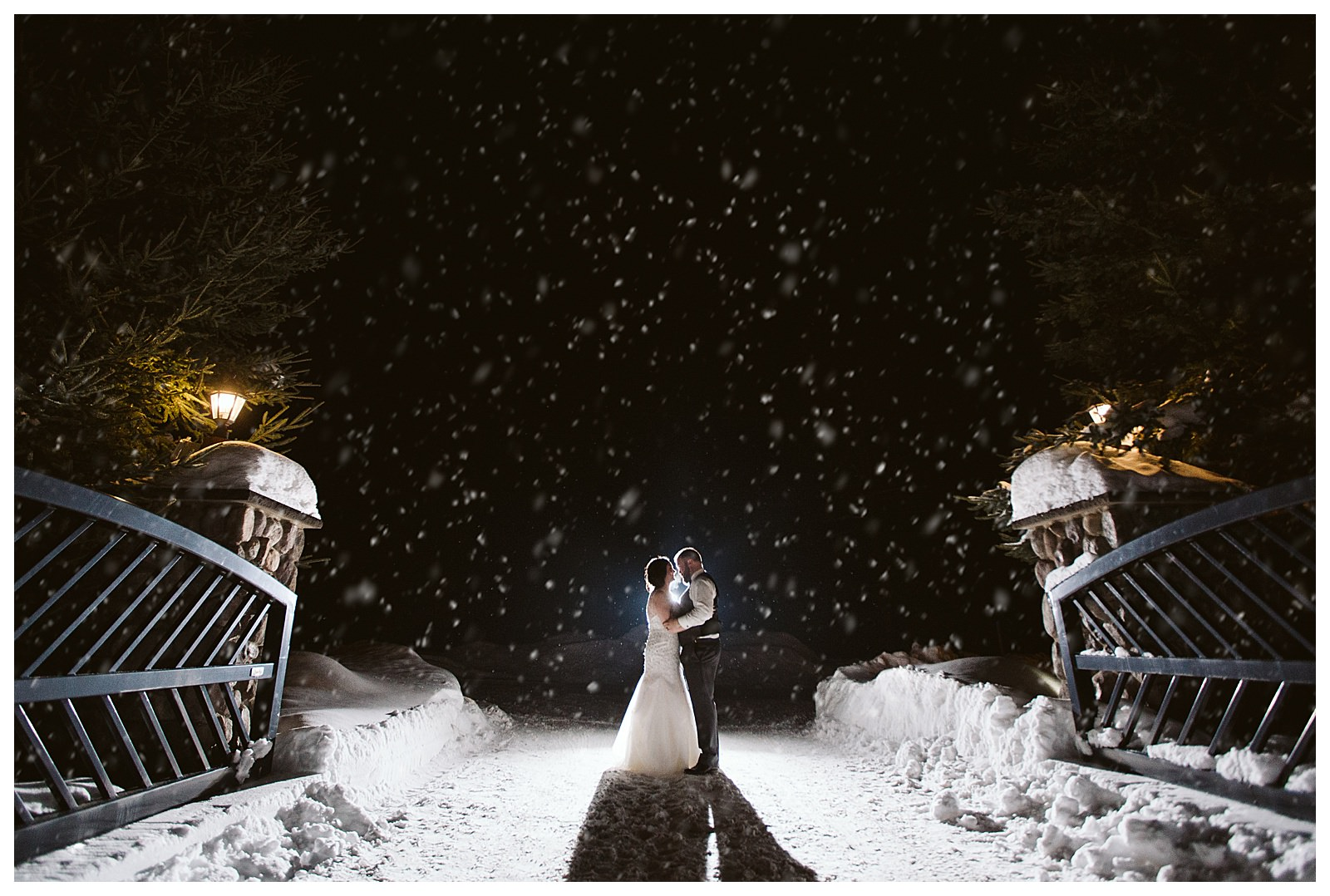 Crosslake Minnesota Winter Wedding