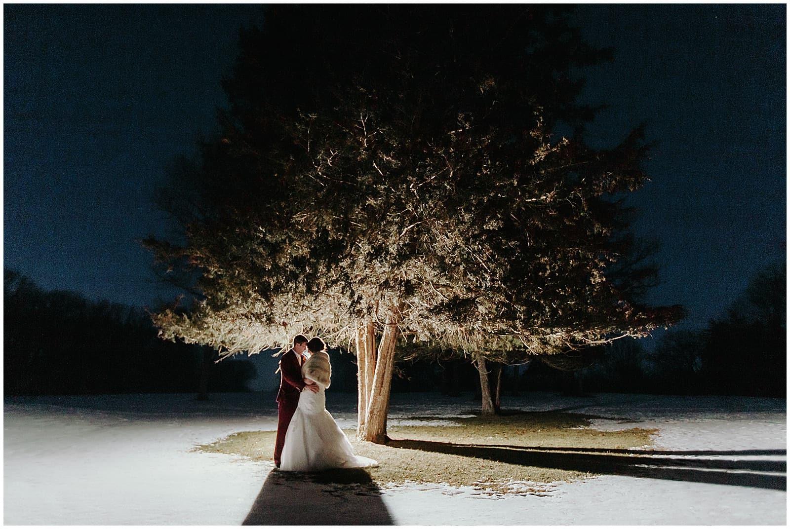 Hidden Greens Winter Wedding